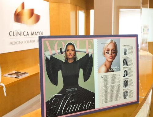 Articulo «Despídete de tus ojeras» en Vogue España 2020